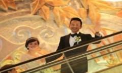 Tôn Lệ, Đặng Siêu đẹp đôi trong ngày cưới