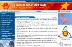 Trang web của Bộ Ngoại giao Việt Nam bị tấn công