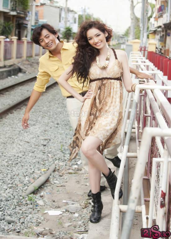 Trúc Diễm ngập tràn hạnh phúc bên Ngôi sao người mẫu 2010