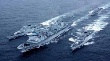 Trung Quốc chuẩn bị tập trận hải quân