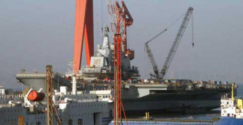 Trung Quốc sẽ chạy thử tàu sân bay trong hai tuần nữa?