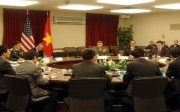 Việt-Mỹ đối thoại an ninh quốc phòng