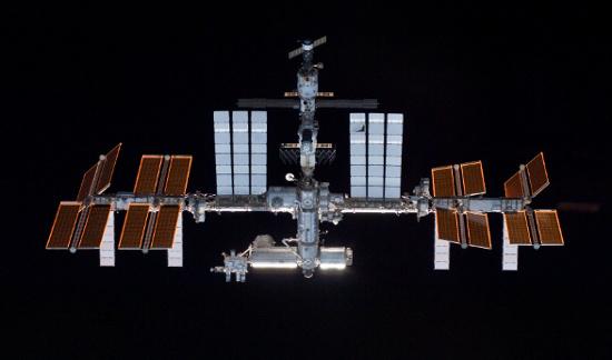 Trạm không gian quốc tế (ISS).