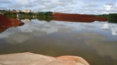 Hồ điều hòa cho nhà máy bô-xít Tân Rai (Ảnh Vietnamnet)