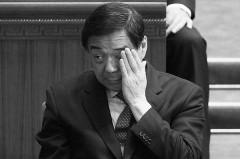Bạc Hy Lai tại Đại lễ đường Nhân dân, hôm 13/3 ở Bắc Kinh. Trước khi bị kết liễu về mặt chính trị, ông Bạc đã lên kế hoạch cho một đợt đàn áp lớn nhằm vào các học viên Pháp Luân Công như một phương tiện để củng cố vị trí của mình trong Đảng. (Lintao Zhang/Getty Images)