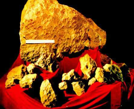 Ảnh: Tảng thiên thạch trưng bày trong Viện bảo tàng Mưa thiên thạch tại thành phố Cát Lâm.