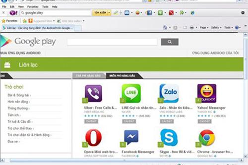 """WeChat bị rớt khỏi tốp ứng dụng """"liên lạc"""" hàng đầu trên Google Play"""
