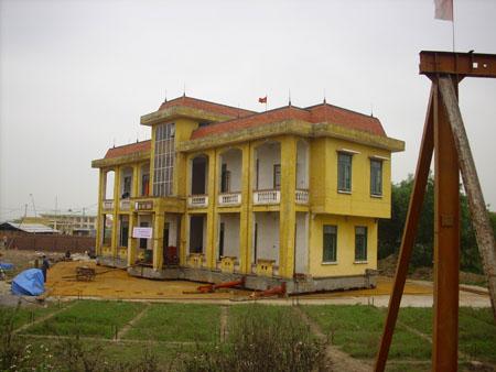 Trụ sở đài phát thanh huyện Xuân