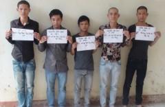 Những nghi can sát hại anh Nguyễn Tuấn Anh bị bắt giữ.