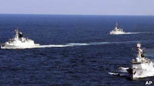 Hải quân Trung Quốc đã đến điểm xa nhất mà họ tuyên bố chủ quyền trên Biển Đông