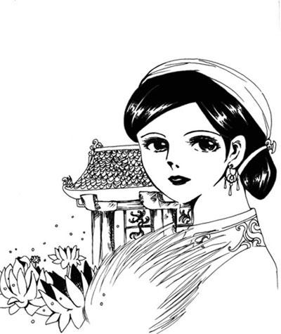Người phụ nữ từ chối tình cảm của Đinh Tiên hoàng đế có tên là Nguyễn Thị Hoa Nương, quê ở trang An Lạc, đất Quảng An thuộc Ái châu (nay là huyện Thọ Xuân, Thanh Hóa). (Ảnh minh họa).