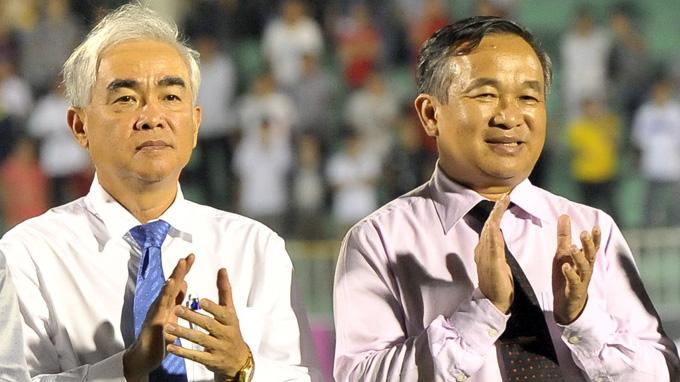 Ông Lê Hùng Dũng (trái) được nhiều nhà chuyên môn nhìn nhận là người có năng lực và dám nói - Ảnh: Sĩ Huyên