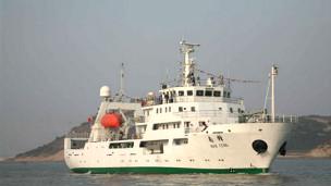 Nam Phong là tàu khảo sát ngư chính lớn nhất Á châu