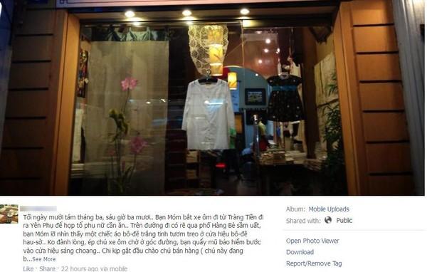 Thêm một cửa hàng Việt không bán cho người Việt gây xôn xao Facebook 2