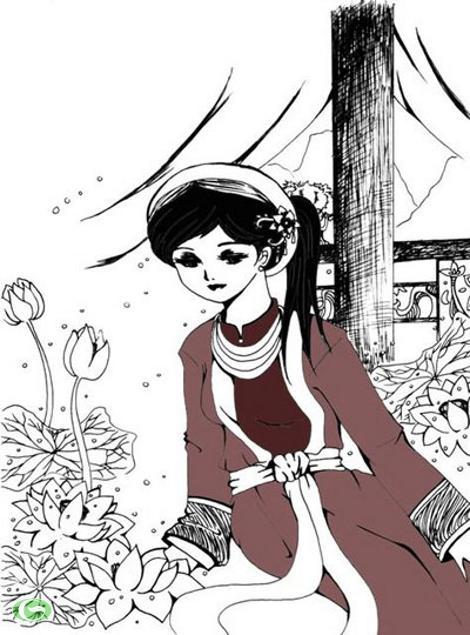 Trong số những câu chuyện, giai thoại về hoàng đế Lê Thánh Tông, có một chuyện vì quá yêu mến sắc đẹp và tài thơ văn của một người phụ nữ mà vua đã ép nàng vào cung làm phi, bất chấp việc người đó đã xuất gia tu hành. (Ảnh minh họa).