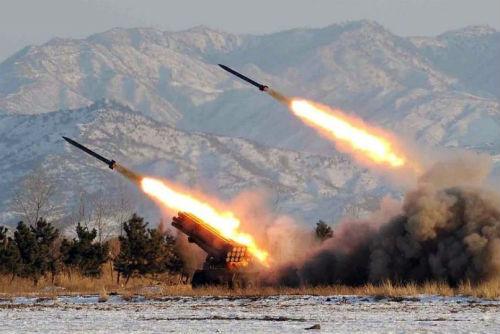 Tên lửa của Quân đội nhân dân Triều Tiên.