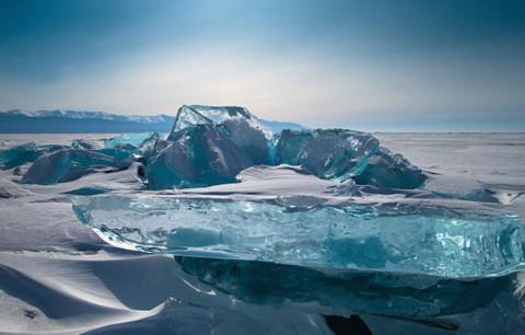 """""""Thật ngớ ngẩn nếu tôi để mất cơ hội để ghi lại cảnh đẹp hùng vĩ ở khu vực hồ Baikal"""", Alexey Trofimov nói."""