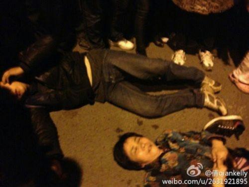 Hình ảnh 10.000 người biểu tình tại Trùng khánh- Trung Quốc - Tin180.com (Ảnh 12)