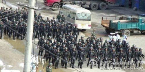 Hình ảnh 10.000 người biểu tình tại Trùng khánh- Trung Quốc - Tin180.com (Ảnh 16)