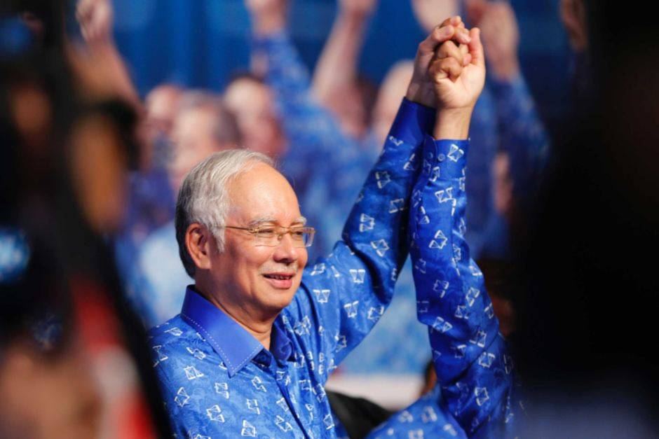 Thủ tướng Malaysia Najib Rajak