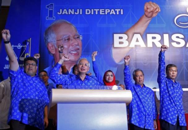 Bản thân ông Najib Rajak hiện còn phải đối mặt với sức ép từ nội bộ đảng