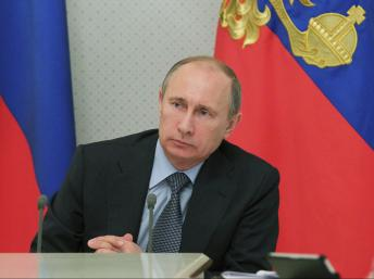 Tỷ lệ tăng trưởng của Nga từ 3,4% năm 2012 rơi xuống 1,1% trong quý đầu 2013 (REUTERS /RIA Novosti)