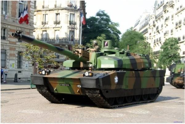 Pháo nòng trơn CN120-26 cỡ nòng 120mm của AMX-56 Leclerc.
