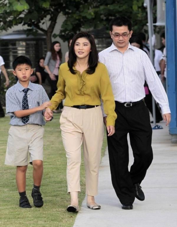 Vẻ đẹp hút hồn của nữ Thủ tướng Thái Lan 2