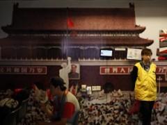 Một góc bảo tàng lưu niệm sự kiện 04/06 trong đại học Hồng Kông, 03/06/2013. REUTERS/Bobby Yip