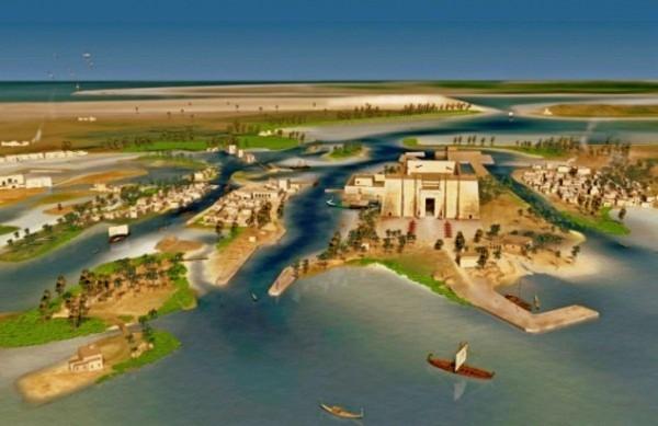 Khám phá thành phố Ai Cập huyền thoại chìm dưới đáy biển 14