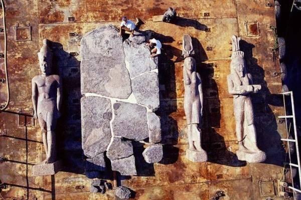 Khám phá thành phố Ai Cập huyền thoại chìm dưới đáy biển 10