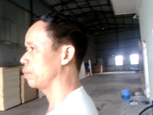 Ông Nguyễn Văn Đạo bức xúc nói.