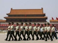 Công an vũ trang tại Quảng trưởng Thiên An Môn, Trung Quốc, ngày 03/06/2013 REUTERS