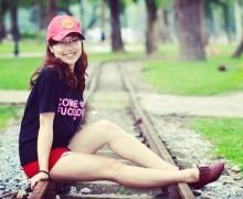 Cô gái trẻ 9X Trần Thu Hà.