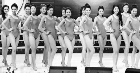 Các thí sinh dự thi hoa hậu có gương mặt trông na ná nhau