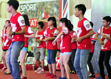 Chương trình ca múa nhạc của các CĐV Arsenal