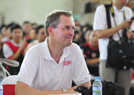 Ông Antony Stokes, Đại sứ Anh tại Việt Nam