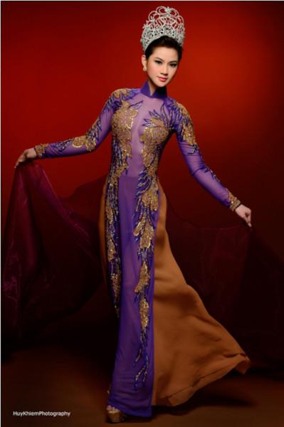 Toàn cảnh đêm chung kết của cuộc thi Hoa hậu Việt Nam toàn cầu 2013.