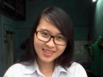 Sinh viên Nguyễn Phương Uyên (nguồn http://nguyentuongthuy2012.wordpress.com)