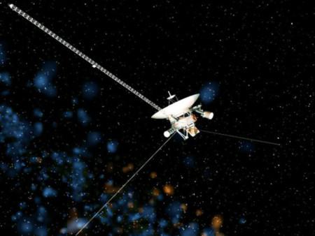 Tàu thăm dò Voyager. Ảnh: ND Live.