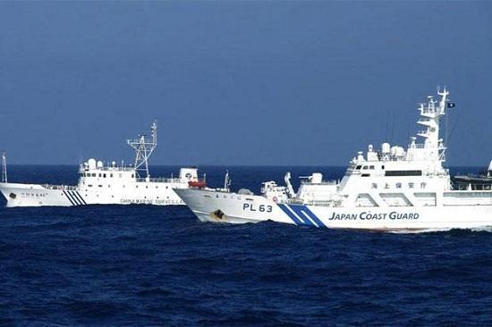 Tàu tuần tra Nhật Bản. Ảnh: Livemint
