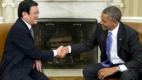 Tổng thống Obama nói sẽ 'cố gắng' thăm Việt Nam trước khi kết thúc nhiệm kỳ