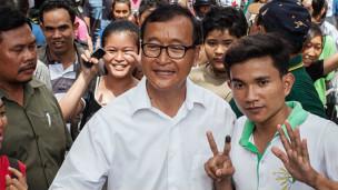 Đảng của Sam Rainsy đã có bước tiến vượt bậc trong cuộc tổng tuyển cử vừa qua