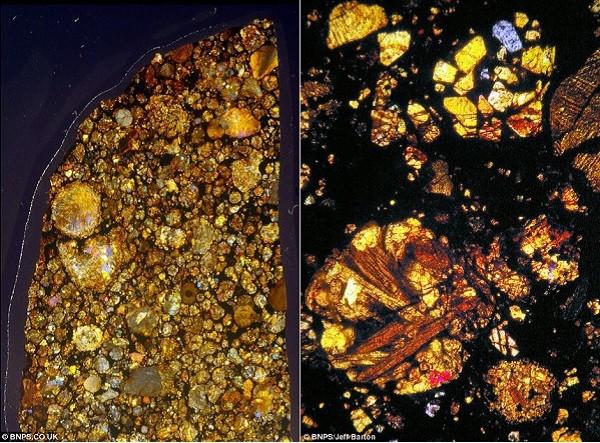 Vẻ đẹp kinh ngạc của thiên thạch 4,5 tỷ năm tuổi 5
