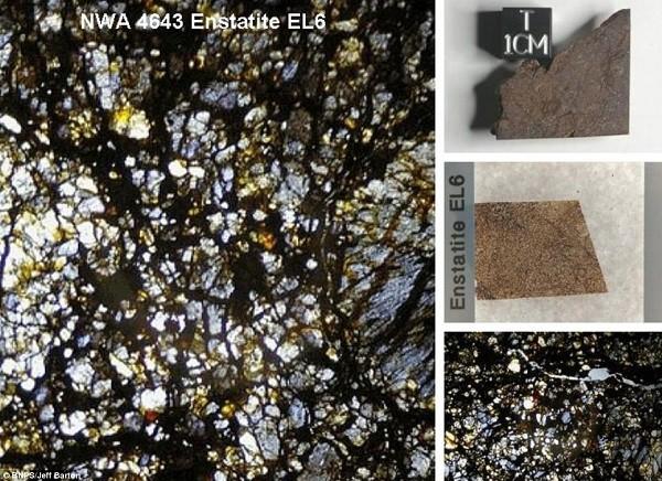 Vẻ đẹp kinh ngạc của thiên thạch 4,5 tỷ năm tuổi 7