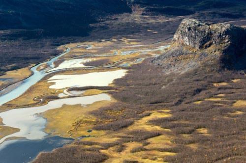 Tuyệt cảnh đồng bằng sông Rapa ở Thụy Điển - 8