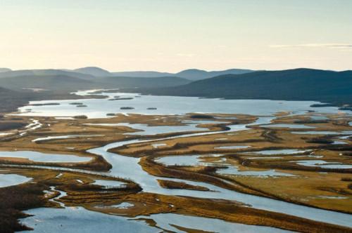 Tuyệt cảnh đồng bằng sông Rapa ở Thụy Điển - 9