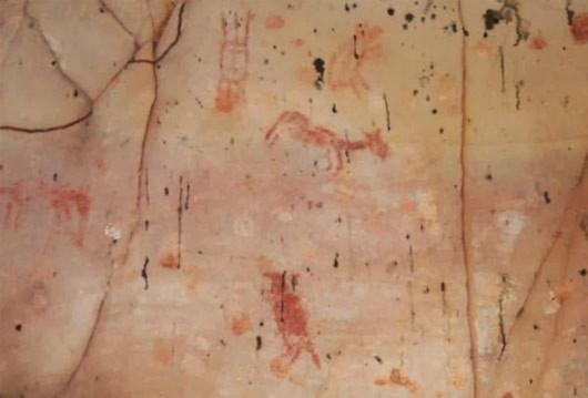Bức tranh 10 ngàn tuổi trên hang động ở Brazil