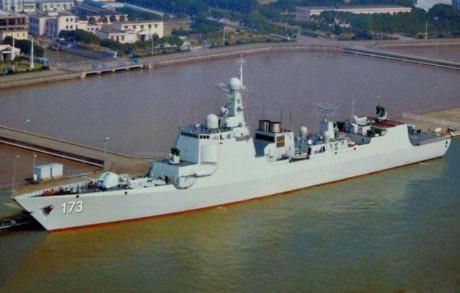 Tàu khu trục Type 052D số hiệu 173 Trường Sa của Trung Quốc