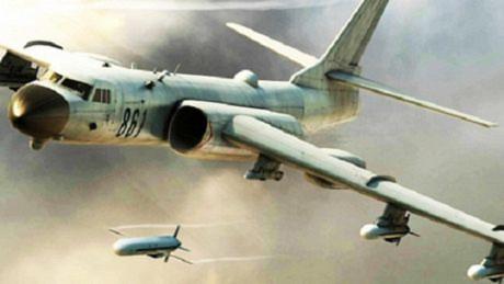 Máy bay ném bom H-6K Trung Quốc